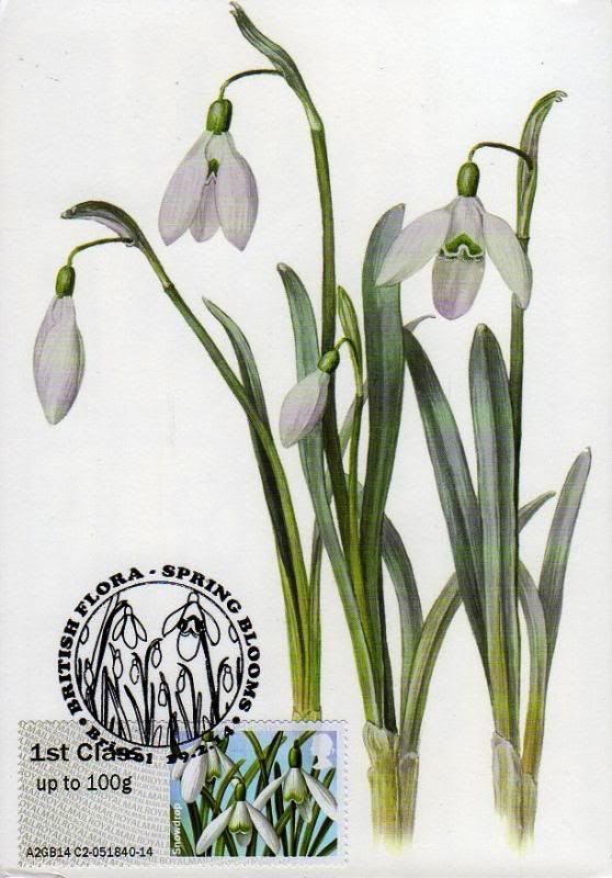 Image result for stamp snow drops