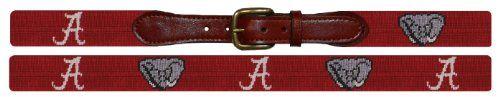 Smathers & Branson Collegiate Needlepoint Belt (B-Collegiate-P)