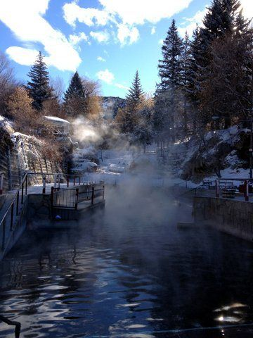 Lava hot springs, Idaho
