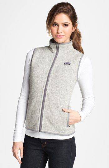 Patagonia Better Sweater Vest available at #Nordstrom Good for chilly mornings in the studio.