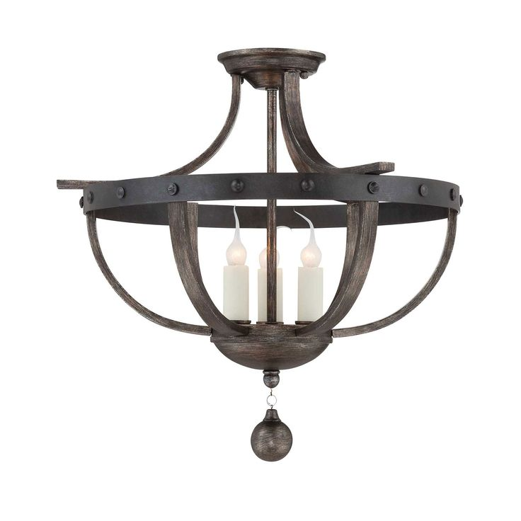 Rustic Ceiling Light Rustic Light Fixture Rustic Wood: 146 Best Luxury Lighting FLUSH, SEMI-FLUSH & CHANDELIERS