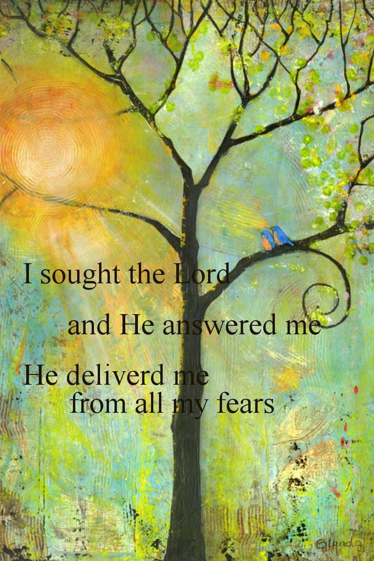 This poor man cried, and the Lord heard him and saved him out of all his troubles. (Psalm 34:6 ESV)