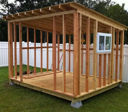 Timber Frame Shed Woodworking Plans