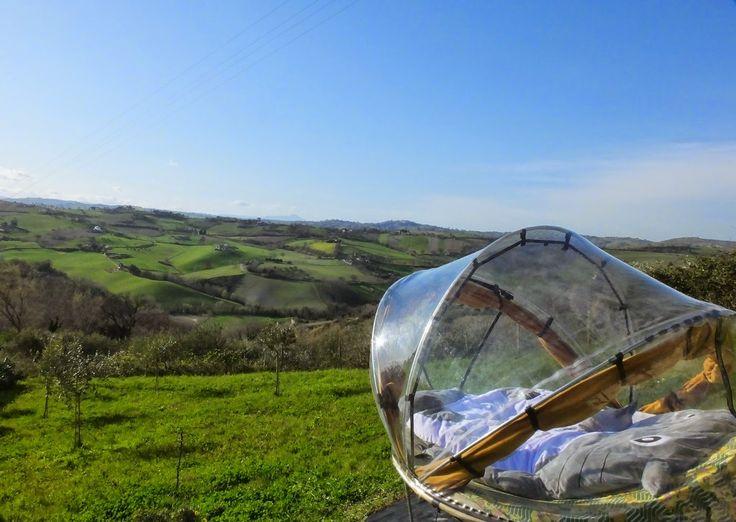 TOTORO, glamping, dormire sotto le stelle, Marche, Italy