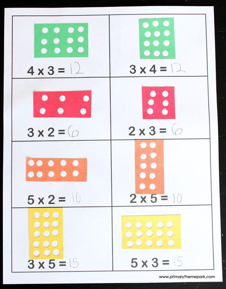 Blog Primary Thene Park       Modelo de planilha         Materiais:   Papel colorido cortado em pequenos retângulos  fu...