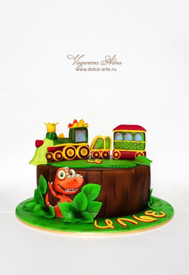 Dinosaur Train - Cake by Alina Vaganova