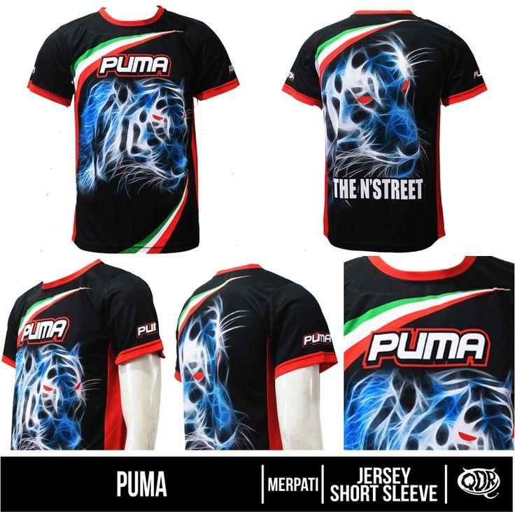 Puma (Jersey Merpati) Bahan: Dry-fit printing: sublimasi untuk pemesanan: BBM 543D3DBB Qdr online shop WA/LINE 081222970120