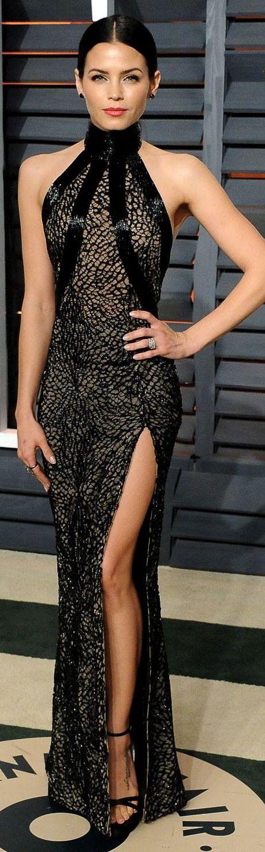 I want this dress ASAP... Jenna Dewan-Tatum in Zuhair Murad Couture ~ 2015 Vanity Fair Oscar Party jαɢlαdy