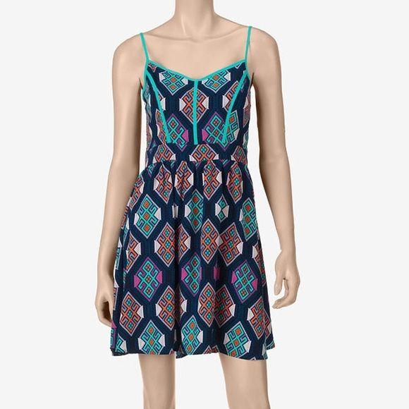 Liberty love blue mint mosaic piping dress beautiful dress by liberty