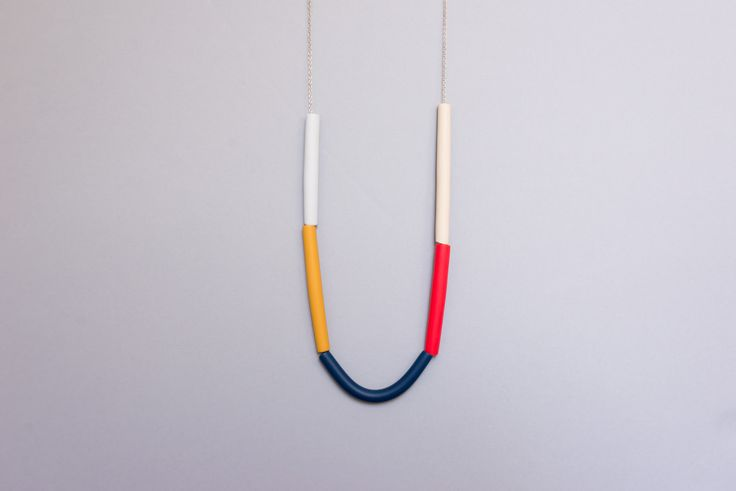 Cylinders necklace from Rali-Living