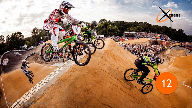 13- #BicycleMotocross This type of #racing requires strength, swiftness, rapidity and guts, of course! The tracks has life-threatening obstacles like mud tracks and rugged terrains. Racing could not get any tougher. Only the best can compete in this sport.
