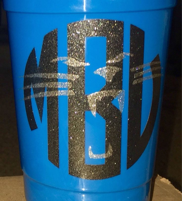 A personal favorite from my Etsy shop https://www.etsy.com/listing/540444987/custom-carolina-panthers-monogram-decal