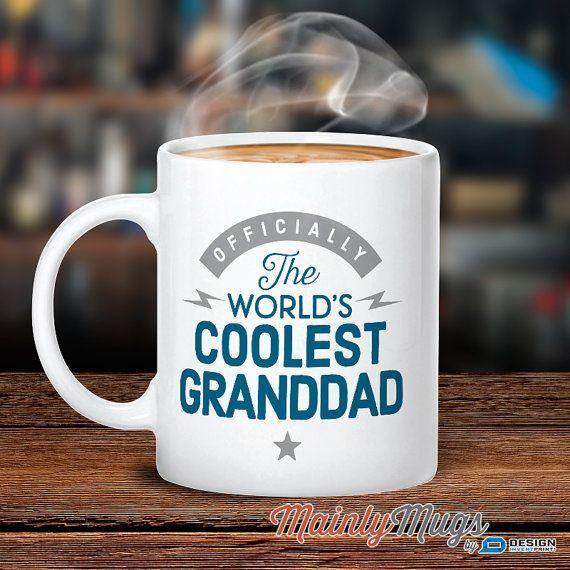 Granddad Gift Cool Granddad Granddad Mug Birthday Gift by MainlyMugs