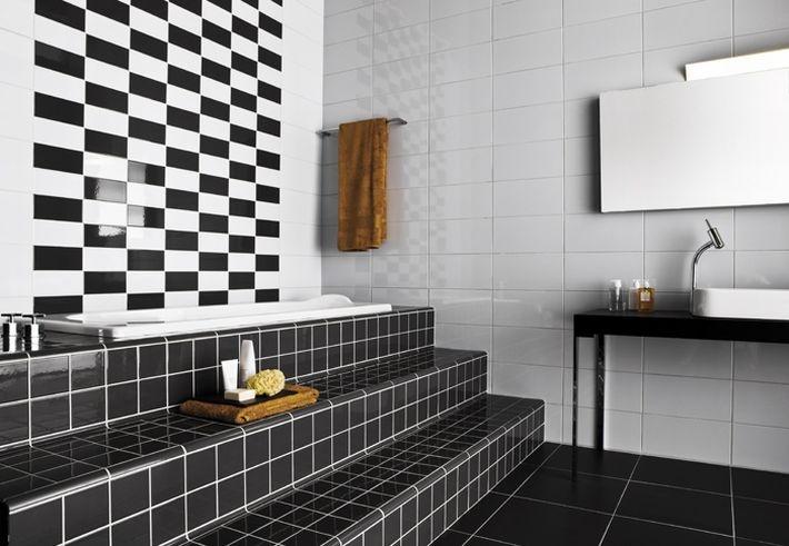 Black & white by Vogue ceramics.