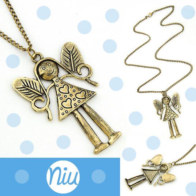 Collar de angel :), encuentra esto y mucho más en: www.niuenlinea.co