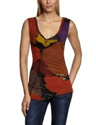Desigual Womens Fashion T shirt 31t2426