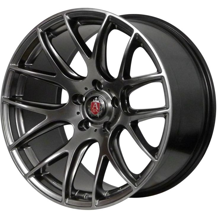 AXE CS LITE HYPER BLACK alloy wheels with stunning look for 5 studd wheels in HYPER BLACK finish with 19 inch rim size