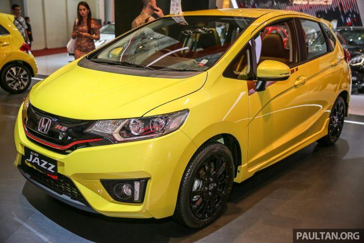 Honda Jazz Rs Cvt Special Edition Showcased At Giias Mobil Impian Mobil