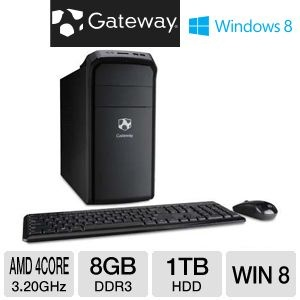51 best computers for sale images on pinterest computers laptop computer deal gateway amd a8 5500 1tb hdd 8gb ram desktop pc fandeluxe Gallery