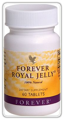 Forever Royal Jelly.      Essential supplement     Rich in vitamins and minerals and essential amino acids     Easily-absorbed and readily digestible     No preservatives, artificial colour or flavours     Aids cell regeneration     Good for the body's resistance     Enhances metabolism