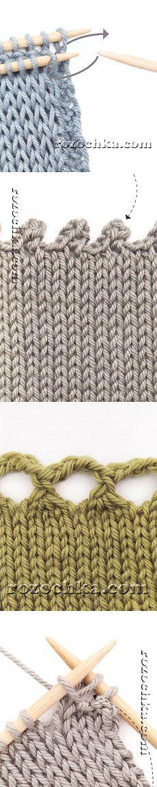 Страница 2 | Способы закрытия петель | Техника вязания спицами