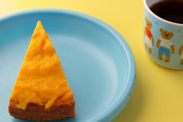 Ciasto dyniowe - drugie śniadanko małego misia.