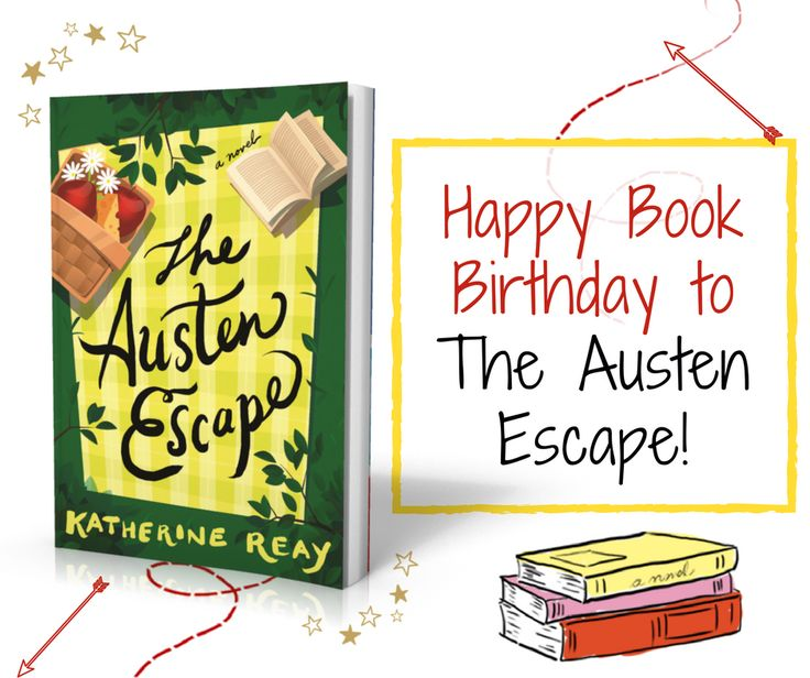 "Happy Book Birthday! My friend Katherine Reay's newest novel The Austen Escape is available today! RT says... ""Reay's exquisite phrasing will resonate with readers and provide much fodder for pondering... Overall, this is a beautifully written novel and one to be savored and enjoyed."""