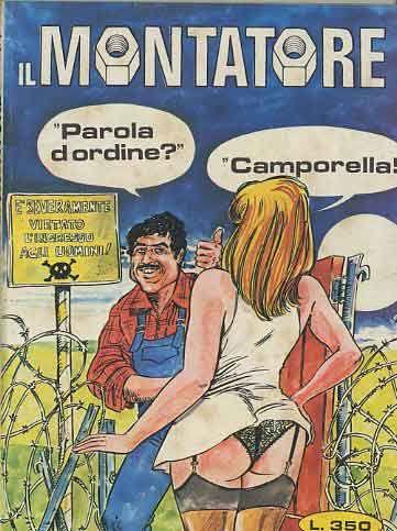 Fumetti Publistrip Collana Montatore Vintage Comics