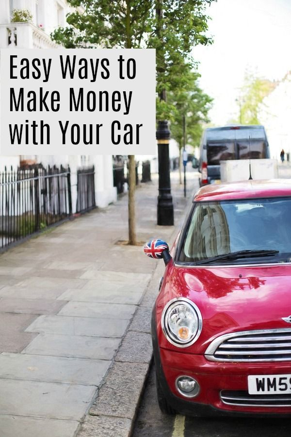 Easy Ways To Make Some Extra Income Using Your Car Side Hustle