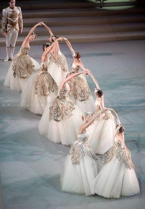 "Dancers of the Mikhailovsky Ballet in Nacho Duato's ""The Sleeping Beauty"" photo (c) Nikolay Krusser ❤❦♪♫"