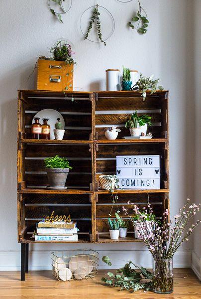 Deko für Frühling: DIYs rund um Pflanzen