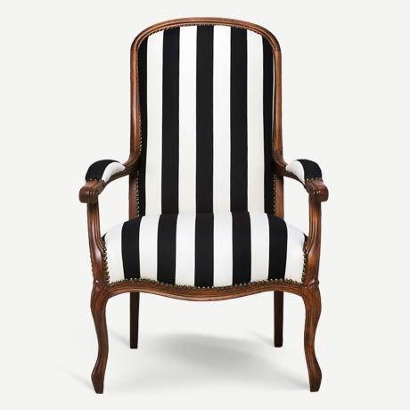 Englishman XV. Louie tarzı restore edilmiş orijinal antika berjer | XV. Louie style restored vintage armchair, antique chair