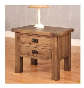 Rustic Oak 2 Drawer Lamp Table is innovative furniture designs are sure to embellish your bedroom. More info: http://solidwoodfurniture.co/product-details-oak-furnitures-3116-rustic-oak-drawer-lamp-table.html