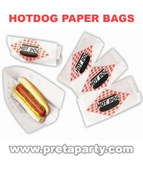 Hot Dog bags to go along with your machine rental