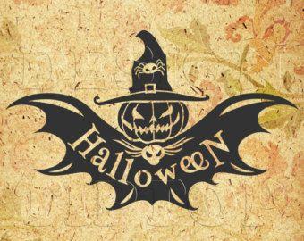 Halloween svg, dxf, png, eps, cdr, print and cut files, Silhouette, Cricut, Halloween party cut files, Halloween shirt, t shirt design