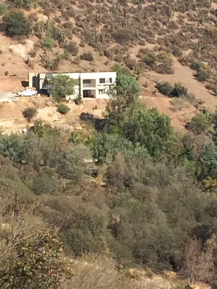 Casa en el cerro Lonquen