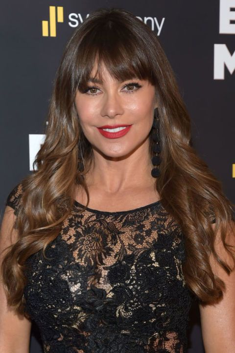 This season's ombré looks nothing like the almost dip-dyed look of ombrés past. In the case of Sofia Vergara, her length and ends are only a smidge lighter than her crown, and the transition is truly seamless.