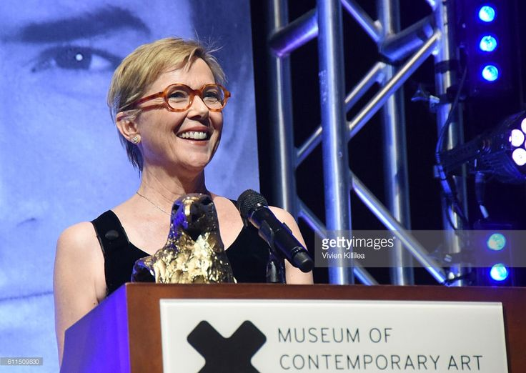 Honoree Annette Bening receives the Gregory Peck Award at the 2016 San Diego International Film Festival on September 29, 2016 in San Diego, California.