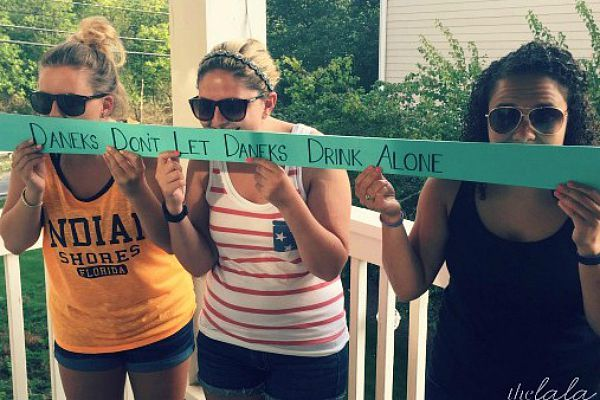 Celebrate together and make your own personalized shot ski!
