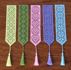 gehaakte bookmarks, inspiratie door Luella