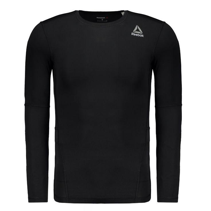 Camisa de Compressão Reebok Wor Solid Preta Somente na FutFanatics você compra agora Camisa de Compressão Reebok Wor Solid Preta por apenas R$ 149.90. Compressão. Por apenas 149.90