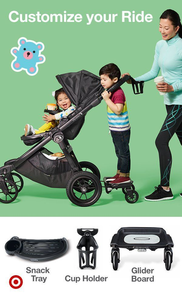 Baby Jogger Glider Board For City Summit Kids Baby Baby Jogger Stroller Jogging Stroller
