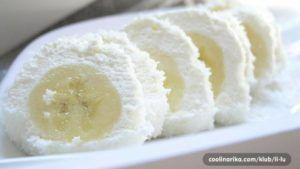 RECEPT: Obalené banány v kokosu si zamilujete