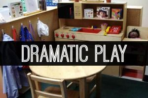 How to set up a dramatic play center in your pre-k, preschool, Head Start, or kindergarten classroom. Lots of pictures and ideas to help you get started.