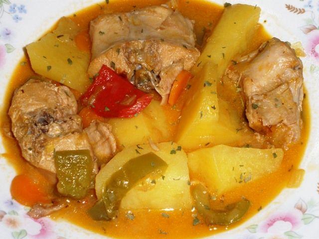 Mi bloguico de Cocina: Guiso de Conejo en Salsa de Sidra