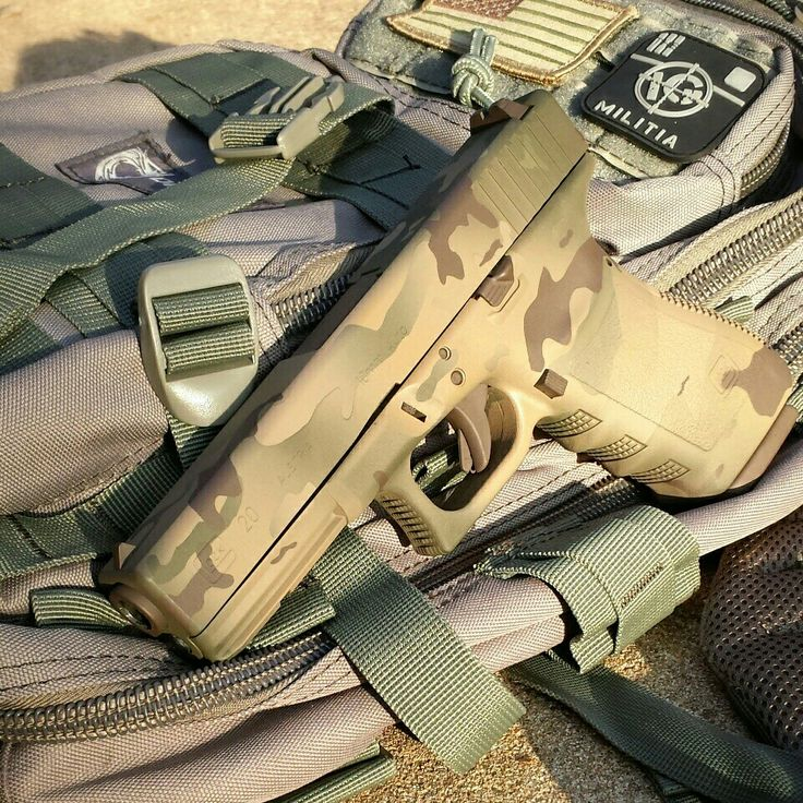Glock 20 10mm done in multicam