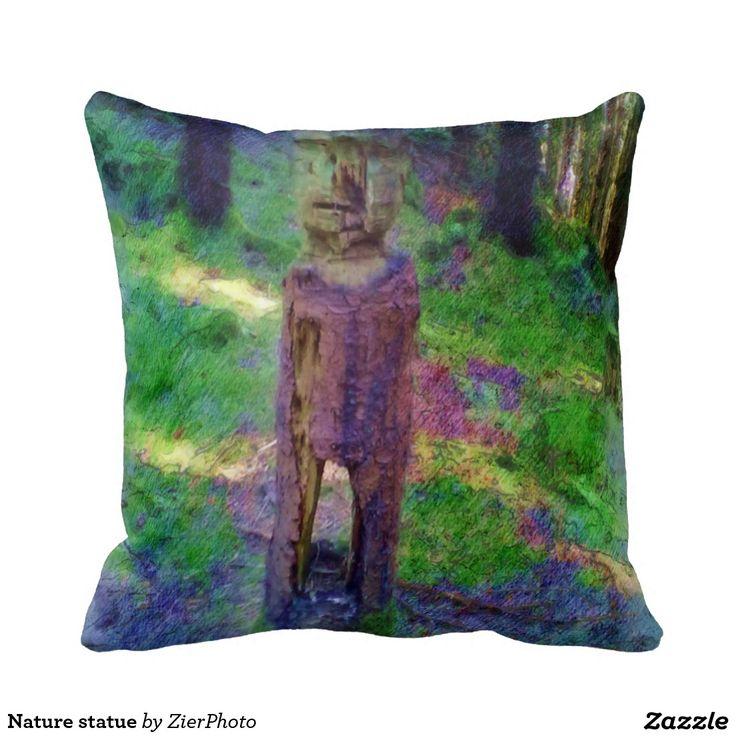 Nature statue pillow