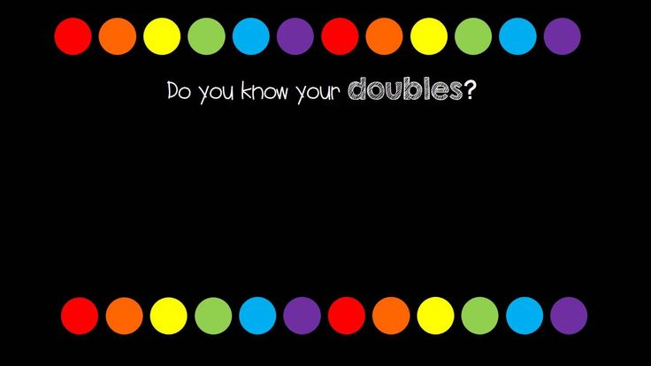 Sing along to our doubles song and learn your double facts! Sung by first graders who love math!