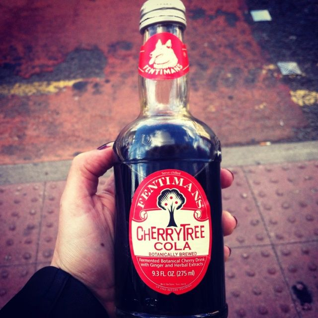 Fentimans Cherry Tree Cola - great at any time of day!
