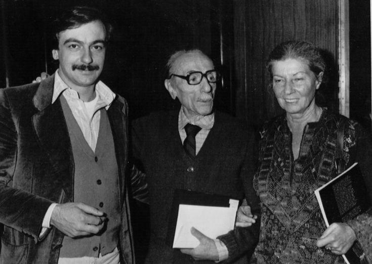 Luca De Filippo con I Genitori